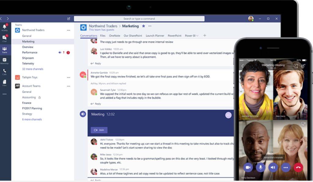 Microsoft Teams Integrates Chat, Meetings, and Calls